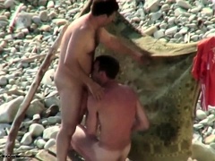 Ukrainian Guy On The Beach