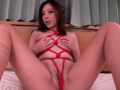Maki Mizusawa sucks it right and le - More at 69avs.com