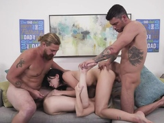 DaughterSwap - Eating Each Other Out To Please Daddies