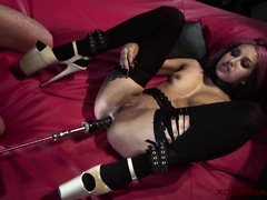 Xdominant - Hardcore anal casting in bdsm dungeon