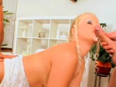 Team Fucks Girl - Blonde Sandra De Marco