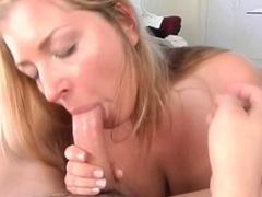 Sultry mature maiden with firm tits blowing for good