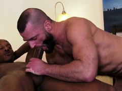 Amateur gets ass fucked and sucks bbc