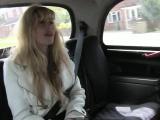 Bushy amateur slut fucked and jizzed on by fake driver