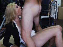 Hot blonde chick agreed to give blowjob and fuck on camera